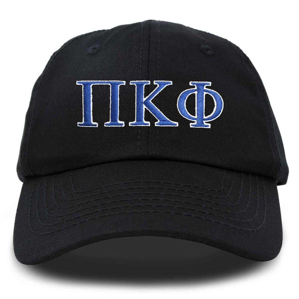 DALIX Pi Kappa Phi Greek Letters Ball Cap Embroidered Fraternity Hat