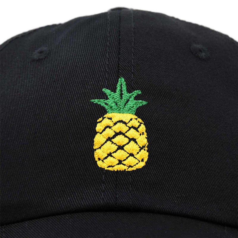 DALIX Pineapple Dad Hat Cotton Twill Baseball Cap Premium Stitched