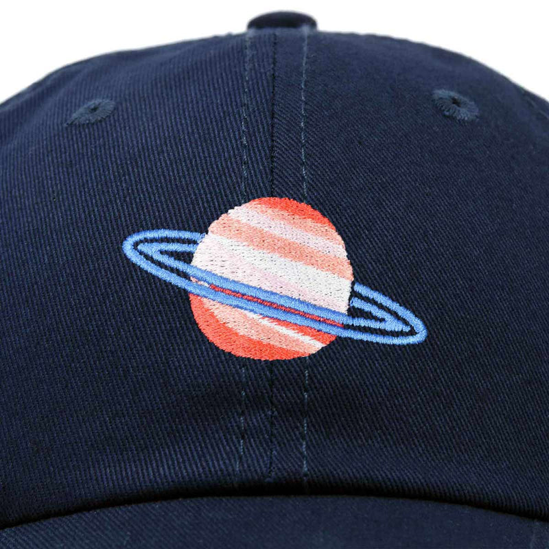 DALIX Planet Saturn Ball Cap Embroidered Hat