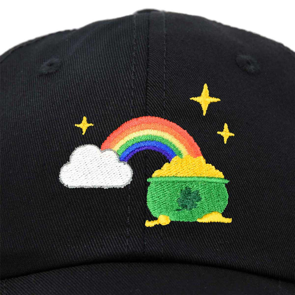 DALIX St. Patricks Pot of Gold Hat Womens Embroidered Baseball Cap