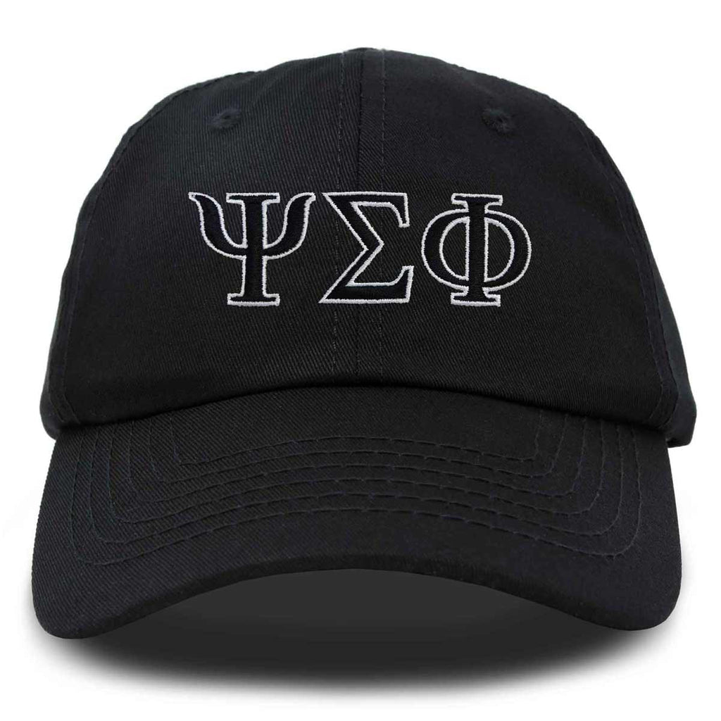 DALIX Psi Sigma Phi Greek Letters Ball Cap Embroidered Fraternity Hat