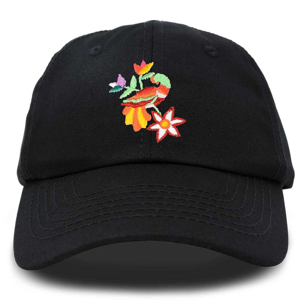 DALIX Sacred Quetzal Hat Womens Embroidered Baseball Cap