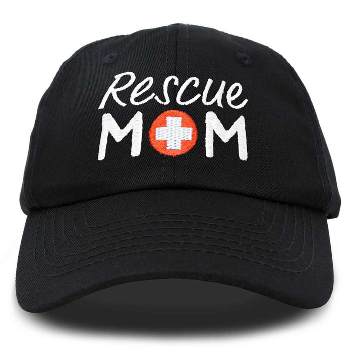 DALIX Rescue Mom Womens Baseball Cap Dad Hat
