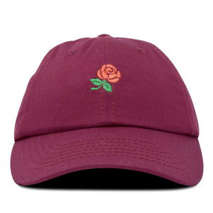 DALIX Rose Baseball Cap Cute Hats Womens Soft Cotton Caps