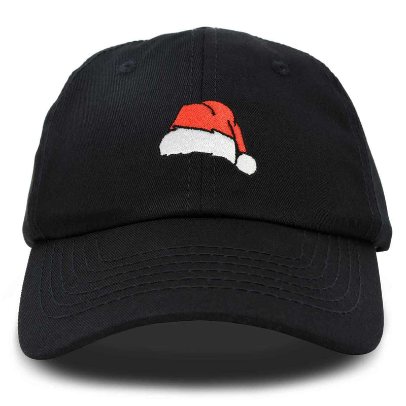 DALIX Christmas Santa Hat On A Cap Womens Embroidered Ballcap