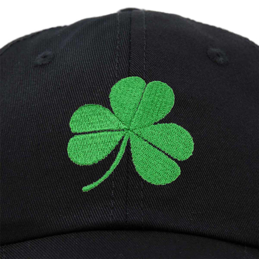 DALIX St. Patrick's Day Shamrock Hat Womens Embroidered Baseball Cap