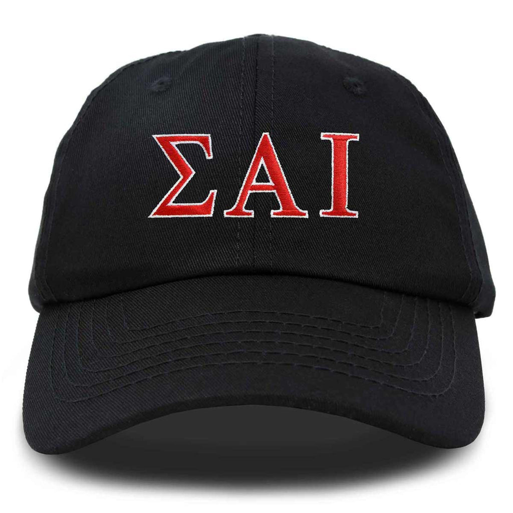 DALIX Sigma Alpha Iota Greek Letters Hat Womens Embroidered Baseball Cap