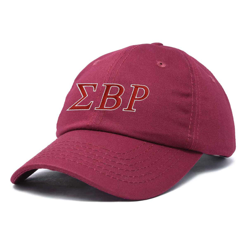DALIX Sigma Beta Rho Greek Letters Ball Cap Embroidered Fraternity Hat
