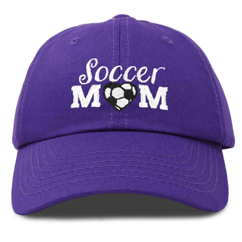 DALIX Soccer Mom Baseball Cap Womens Dad Hats Adjustable Hat Mothers Day