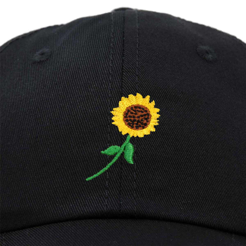 DALIX Sunflower Hat Womens Floral Baseball Cap