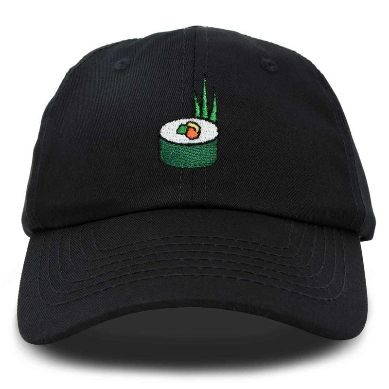 DALIX Sushi Roll Hat Womens Embroidered Baseball Cap