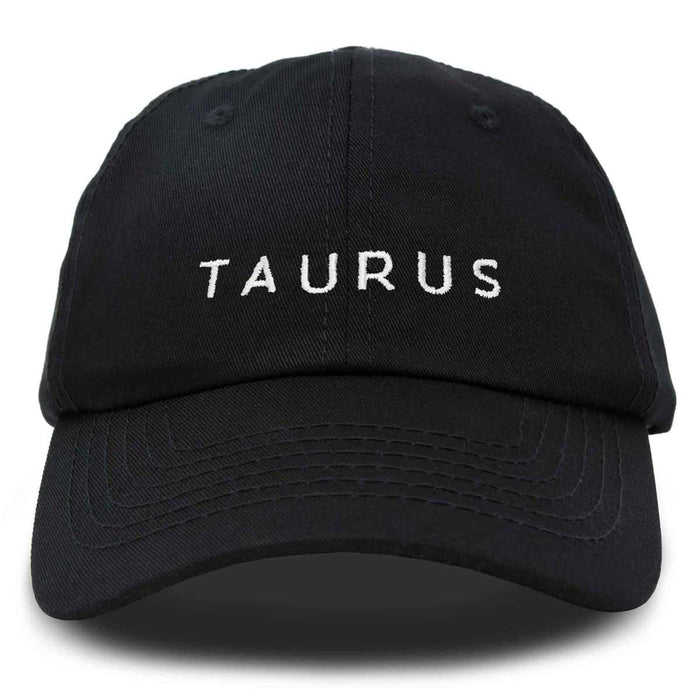 DALIX Zodiac Sign Taurus Hat Womens Embroidered Horoscope Baseball Cap