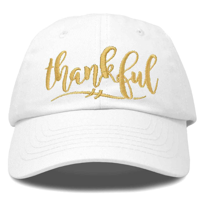 DALIX Thankful Hat Womens Baseball Cap