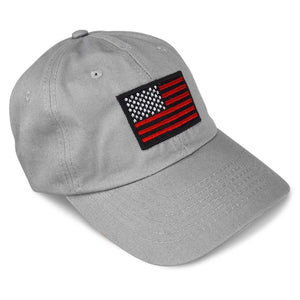 DALIX USA Hat Flag Caps Embroidered Dad Cap Premium Stitched