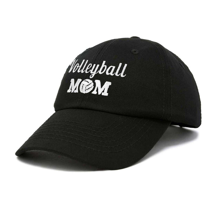 DALIX Volleyball Mom Premium Cotton Cap Womens Hats for Mom