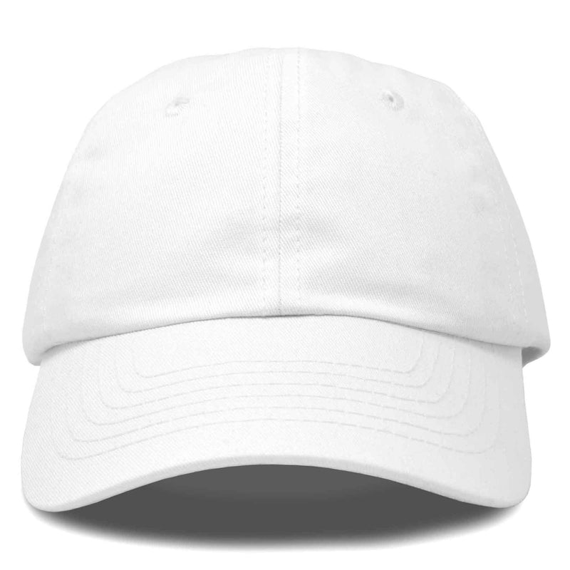 DALIX Baseball Cap Dad Hat Plain Men Women Cotton Adjustable Blank Unstructured Soft