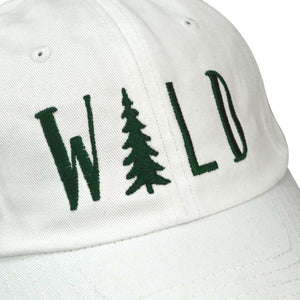 DALIX Hiking Hats Dad Hat WILD Custom Caps Embroidered Cap Green Letters