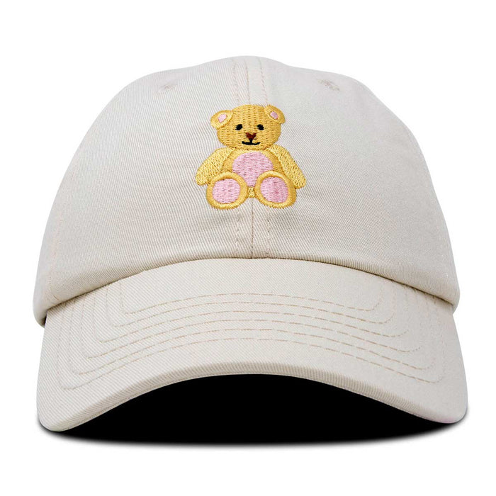 DALIX Youth Cute Teddy Bear Hat Cotton Baseball Cap