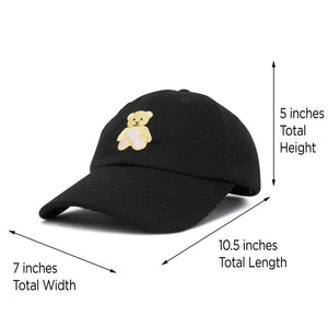 DALIX Youth Cute Teddy Bear Hat Cotton Baseball Cap f715eb712bf