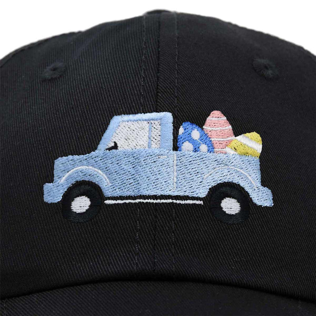 DALIX Cute Easter Egg Truck Kids Hat Embroidered Boys Baseball Cap