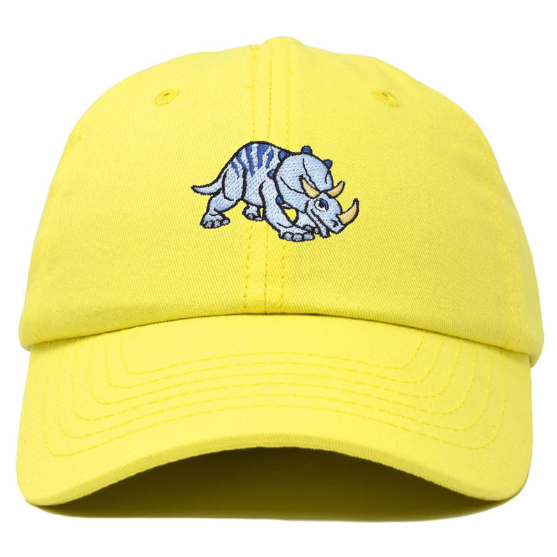 DALIX Sara the Triceratops Dinosaur Childrens Hat Baseball Cap Girls Boys