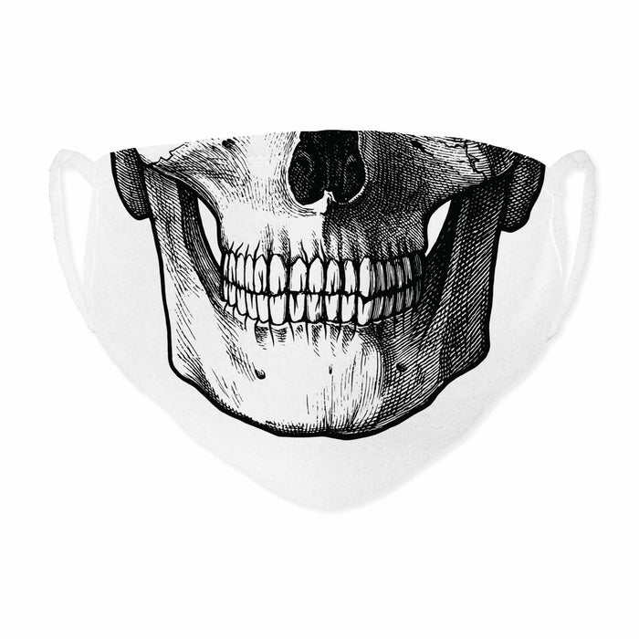 DALIX Mens Custom Printed Premium Cotton Mask Reusable Made in USA