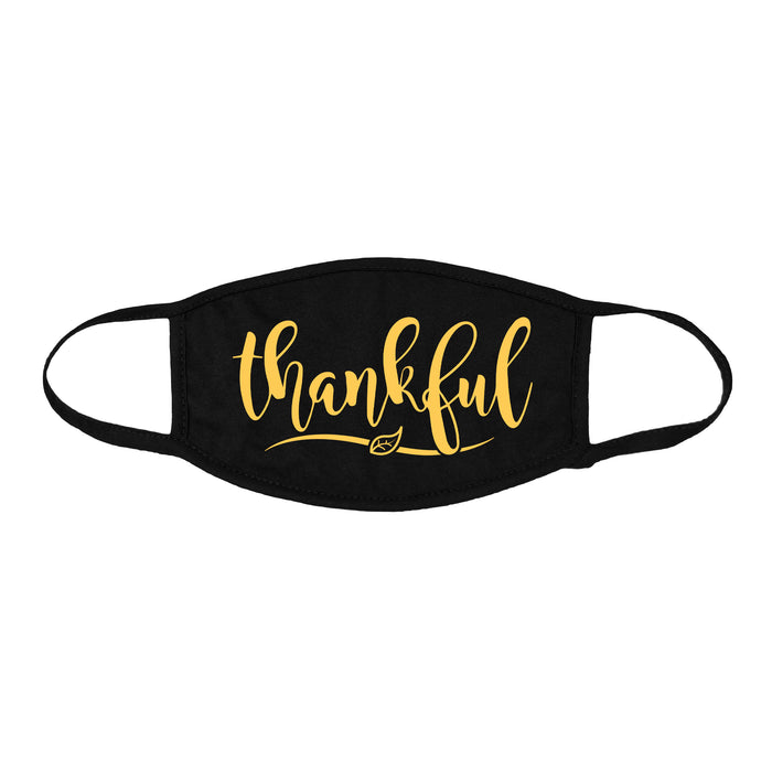 DALIX Printed Thanksgiving Theme Premium Cotton Mask Reusable Made in USA