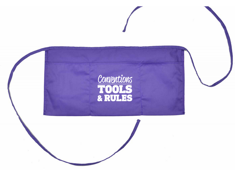 Smekens Tools and Rules Purple Apron