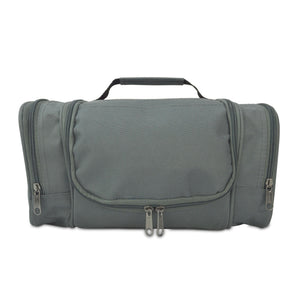 DALIX Hanging Travel Toiletry Kit Accessories Bag (8 Colors) Business DALIX Gray