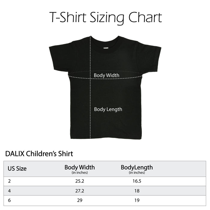 DALIX Toddlers Baby Boss T-Shirt Embroidered Shirt