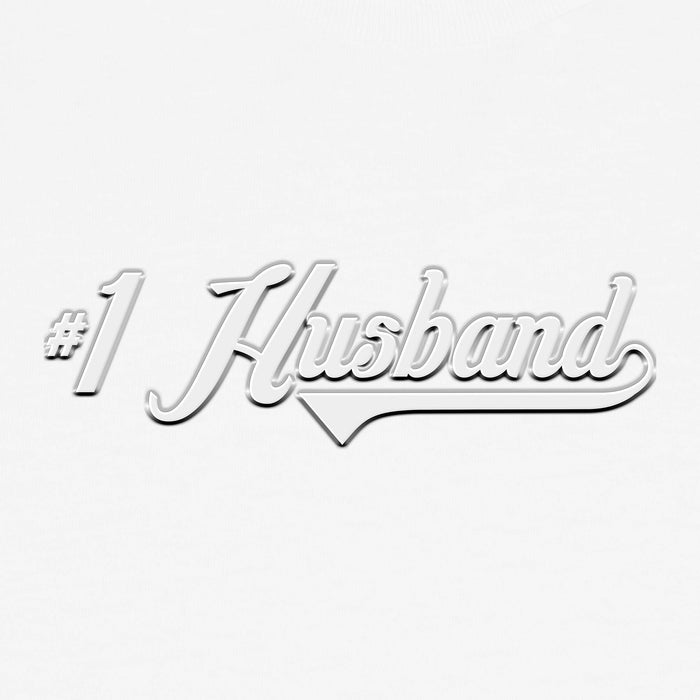 DALIX #1 Husband Number One Mens Graphic T-Shirt