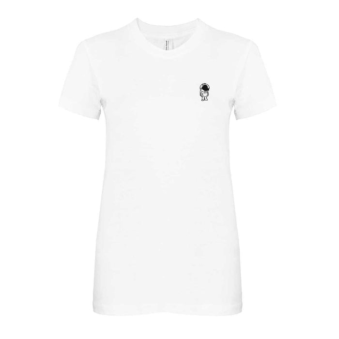 DALIX Space Astronaut T-Shirt Women's Embroidered Shirt