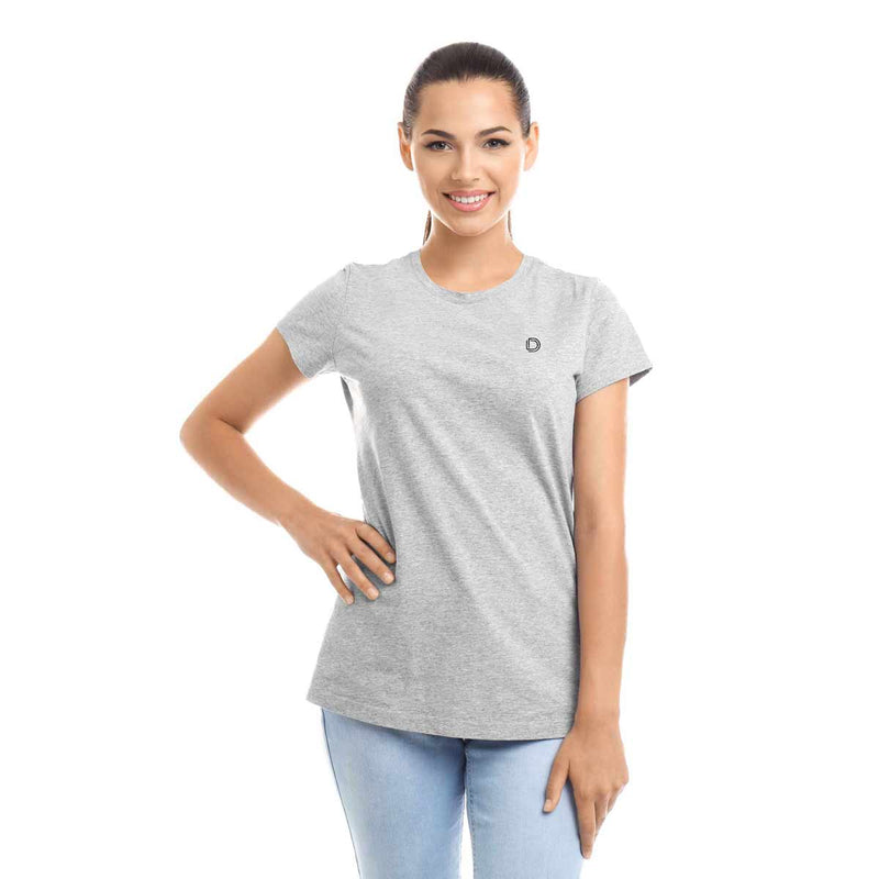 DALIX Women's Embroidered T-Shirt