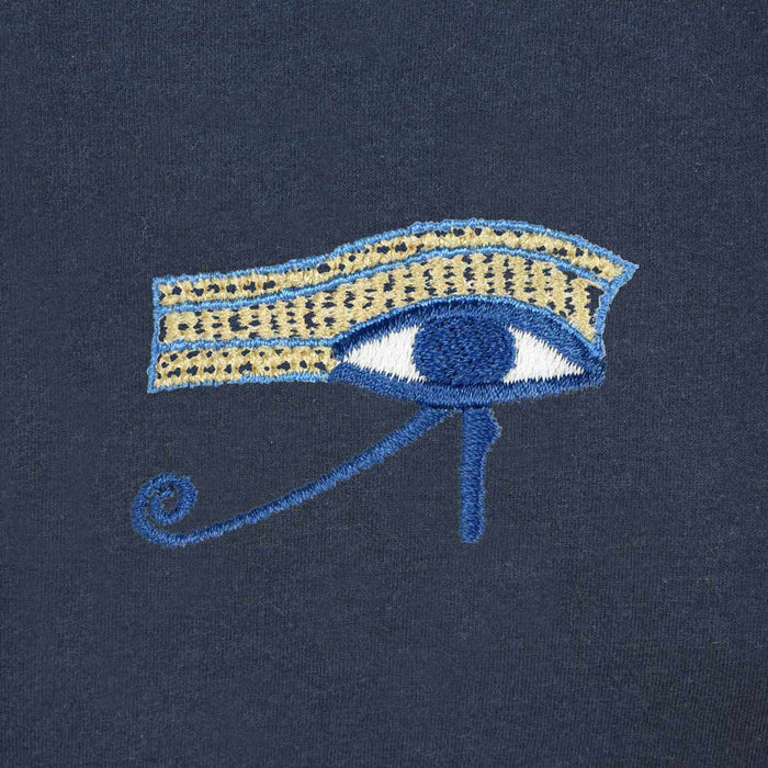 DALIX Eye Of Horus T-Shirt Women's Embroidered Shirt