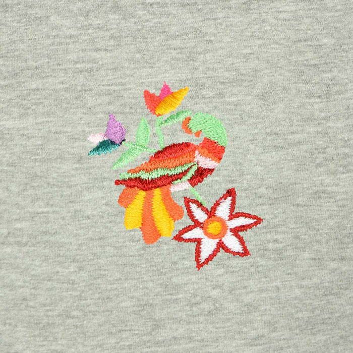 DALIX Sacred Quetzal T-Shirt Women's Embroidered Shirt