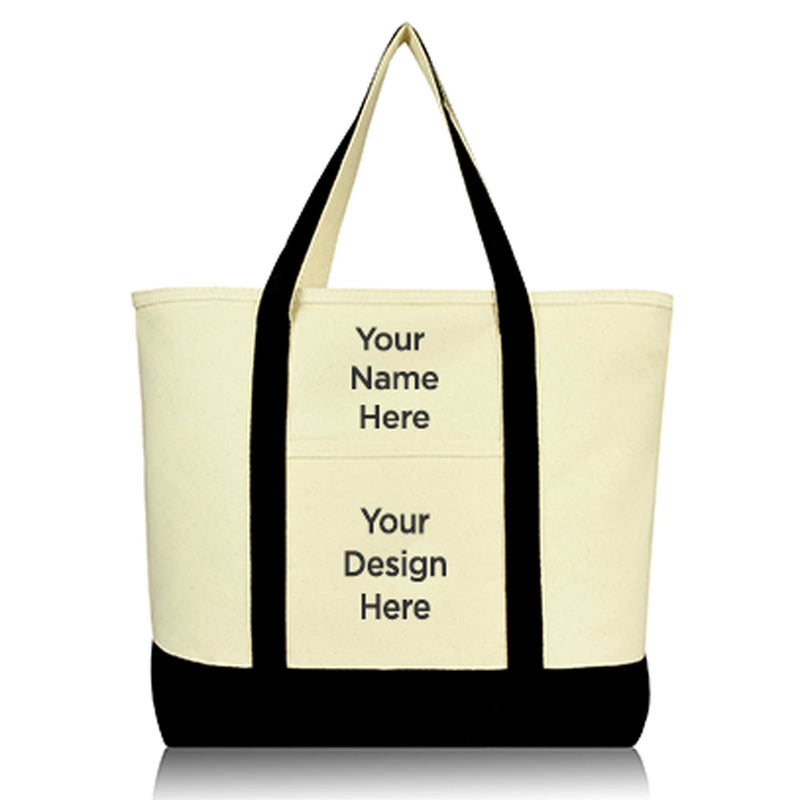 DALIX Custom Shopping Tote Bag