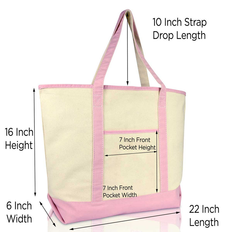DALIX Reusable Grocery Tote Bag Cotton Canvas Meats and Vegetables Set