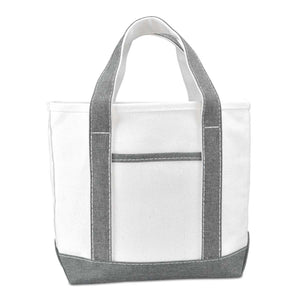 "DALIX 14"" Small Mini Cotton Canvas Gift Tote Bag"