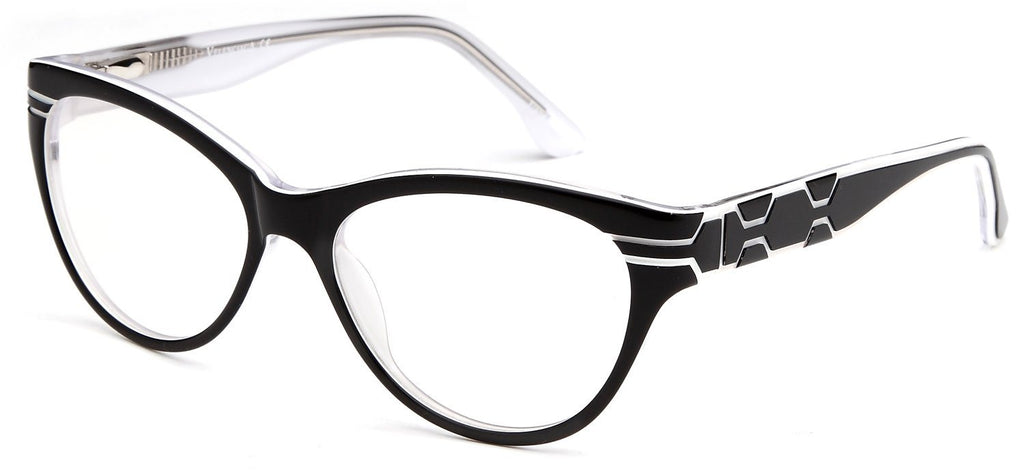 Women\'s Wayfarer Glasses Frames Prescription Eyeglasses Size 52-16 ...