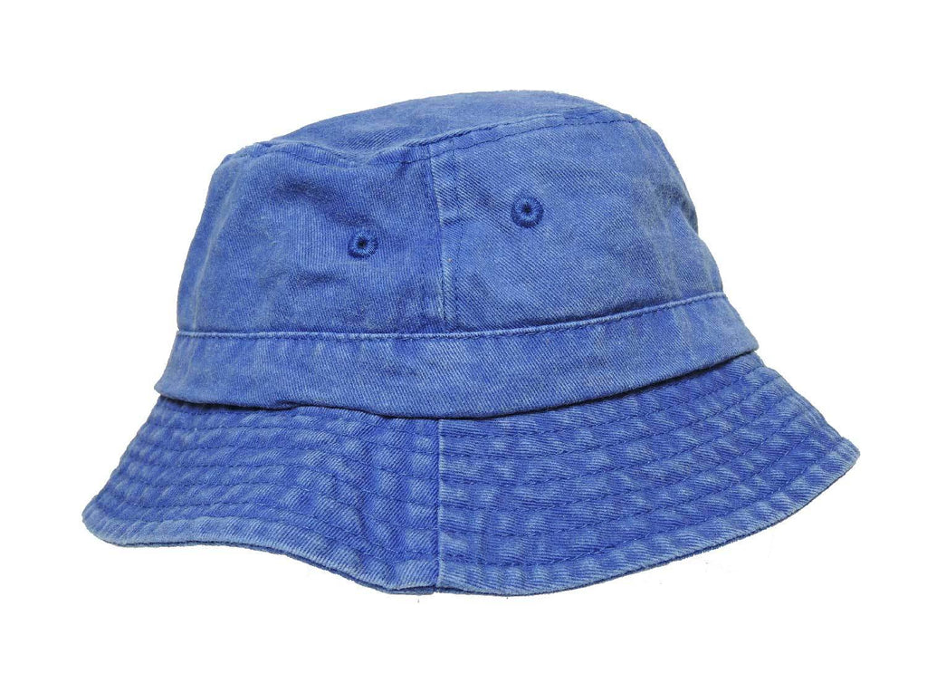 DALIX Bucket Hat Washed Cotton Fishing or Golfing Medium to Large Size (Comes in 2 Colors) Caps & Hats DALIX Royal Blue