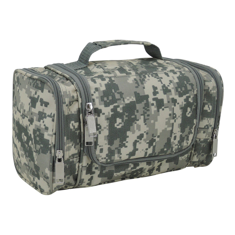 DALIX Hanging Travel Toiletry Kit Accessories Bag (8 Colors) Business DALIX Digital Camouflage