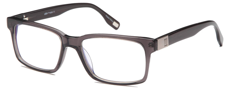 DALIX Mens Strong Square Glasses Frames Prescription Eyeglasses Rxable 55-18-145-37 Eyewear DALIX Gunmetal