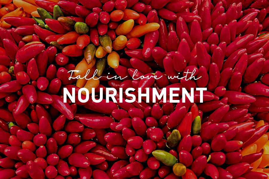 Fall in Love with Nourishment
