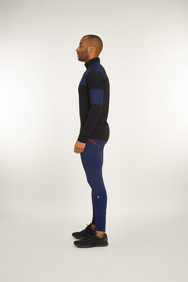 Stamina 1/4 Zip Long Sleeve Top