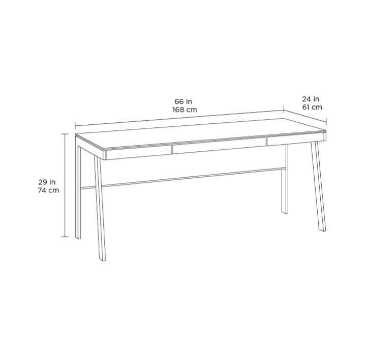 BDI Sigma 6901 Desk dimensions
