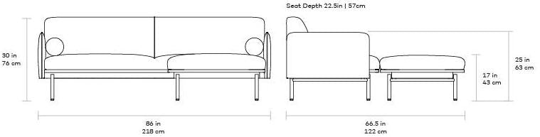 Gus Foundry Bi-Sectional dimensions