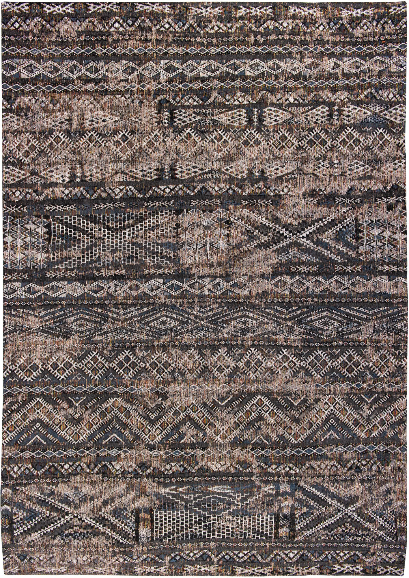 Antiquarian 9113 Black Rabat Rug