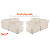 Gus Modern Circuit Modular Sectional Reversible