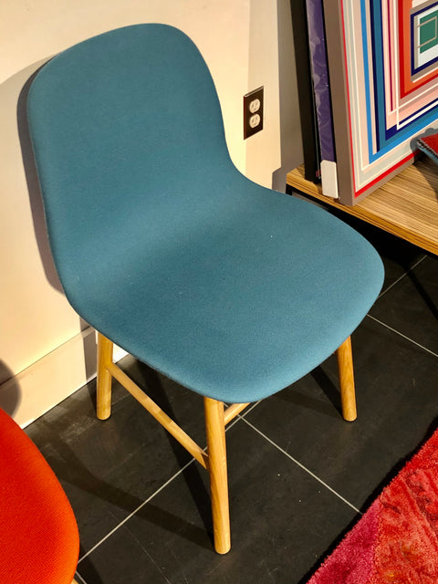 Form Chair Teal Blue *Floor Model*