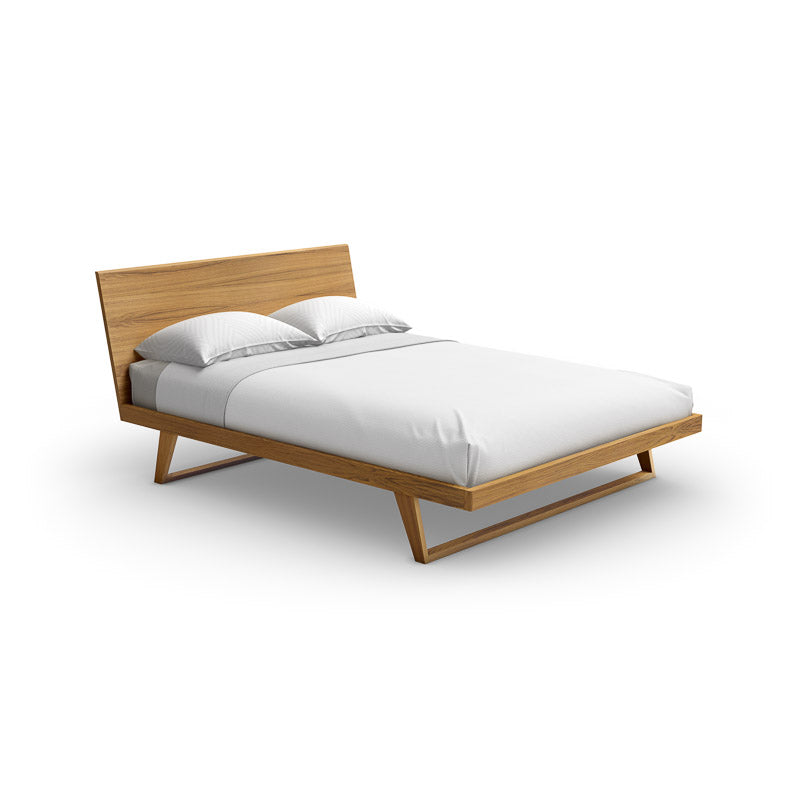Malta Teak Bed - Design Distillery
